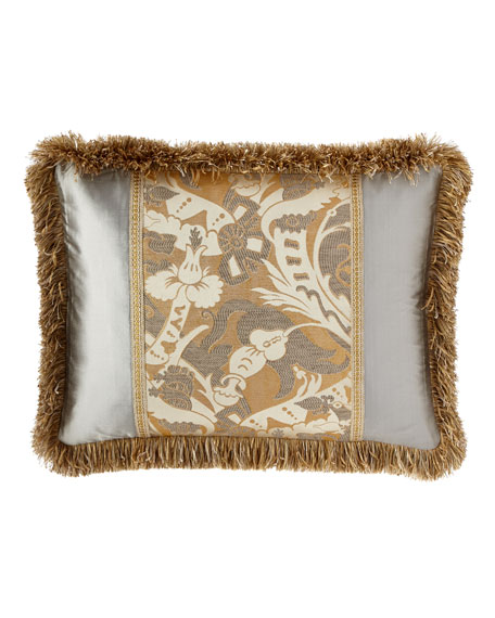 Glitz King Sham with Brush Fringe