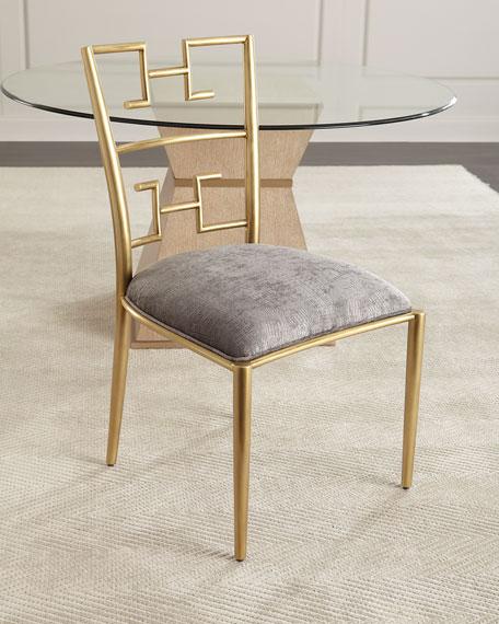 Brishen Brass Side Chair