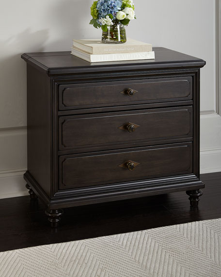 Haven Three-Drawer Night Stand