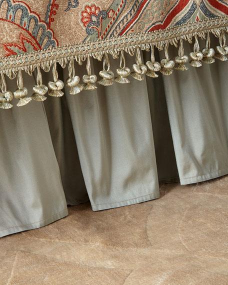 Sweet Dreams Kristi Gathered Silk Adjustable Dust Skirt
