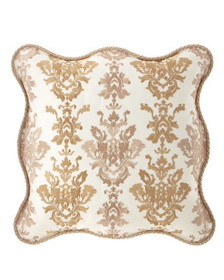 Isadora Scalloped European Sham