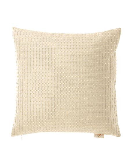 Isadora Beaded Silk Pillow