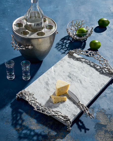 Ocean Reef Cheese Board with Knife