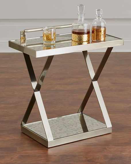 Bernhardt Clarendon X-Frame Side Table