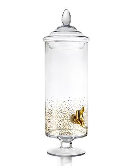 Luster Glass Beverage Dispenser