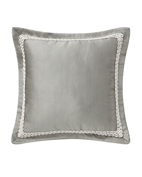 "Celine Square Decorative Pillow, 16""Sq."