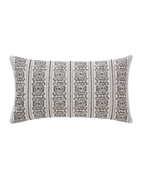 "Celine Breakfast Decorative Pillow, 11"" x 20"""