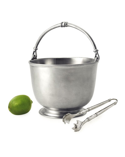 Bar Pitcher with Tongs
