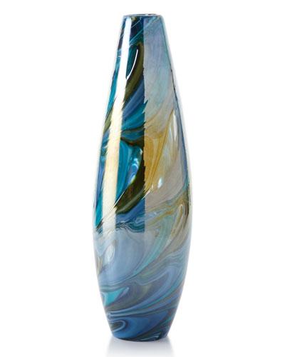 Medium Chalcedony Vase