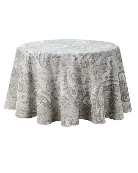 "Taylor Round Tablecloth, 70""Dia."