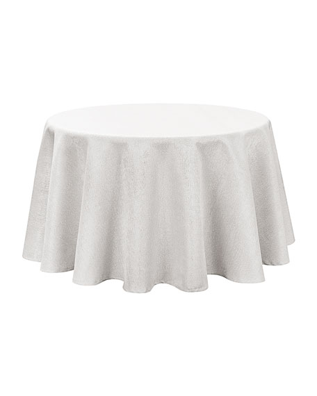 "Moonscape Round Tablecloth, 90""Dia."