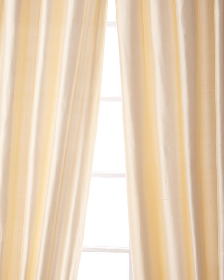 "Palace Silk Curtain, 90""L"