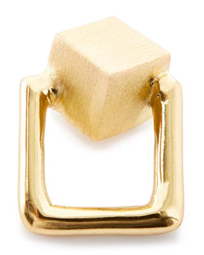 Pyrite Cube Napkin Ring
