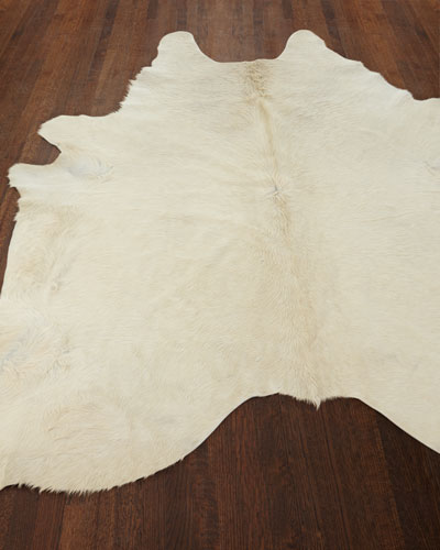 Angelica Hairhide Rug, 5' x 7'