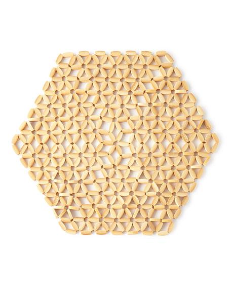 Hexagon Bamboo Placemat
