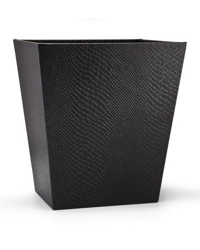 Conda Wastebasket  Black