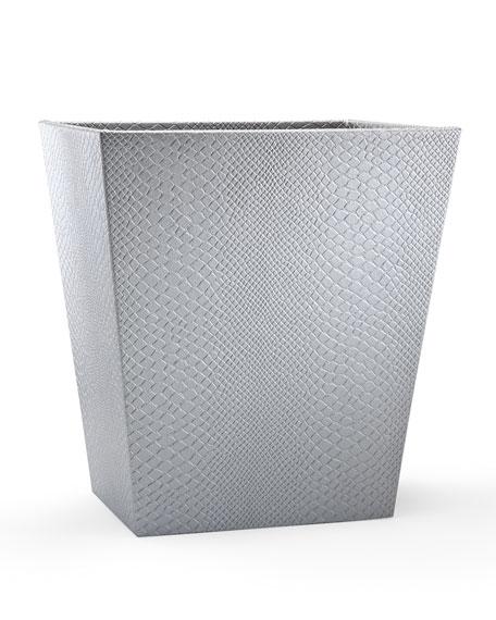 Labrazel Conda Wastebasket, Silver