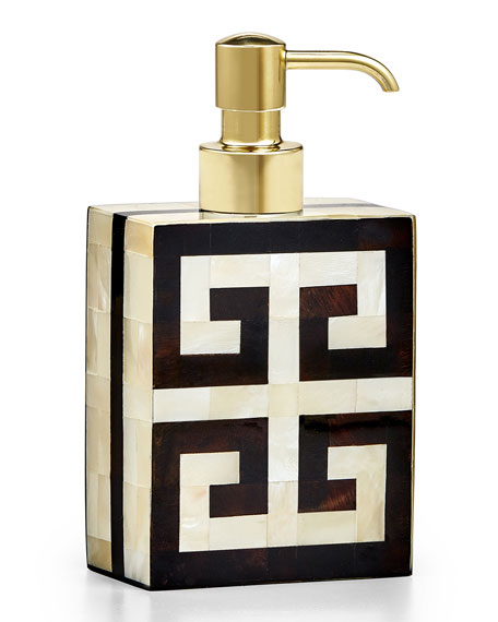 Greek Key Pump Dispenser