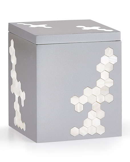 Hex Canister, Silver