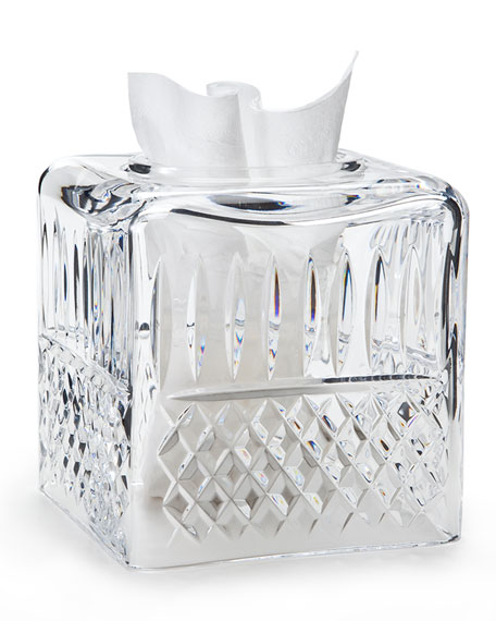 Marie Clear Tissue Box Cover