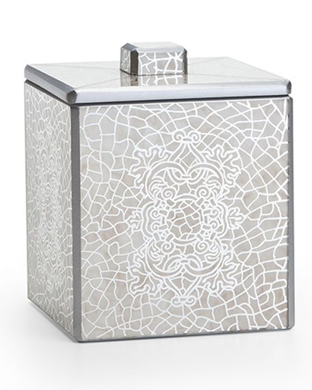 Miraflores Canister, Silver