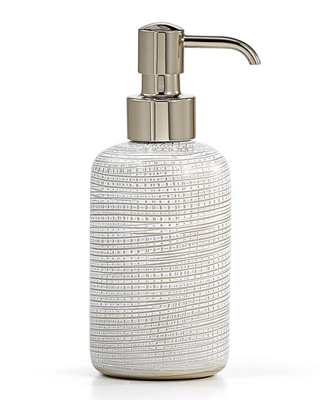 Woven Platinum Pump Dispenser