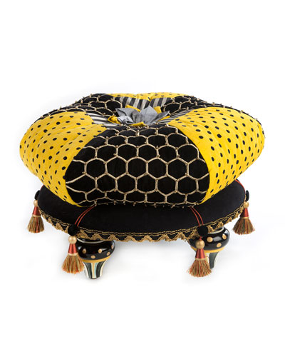 Honeycomb Footstool