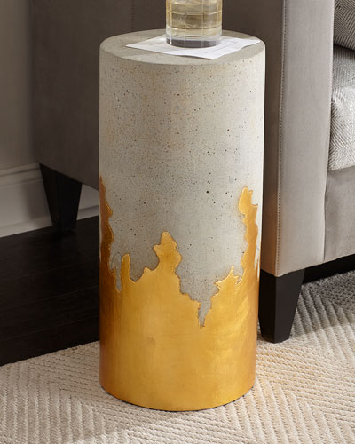 Brilliant Concrete Martini Side Table
