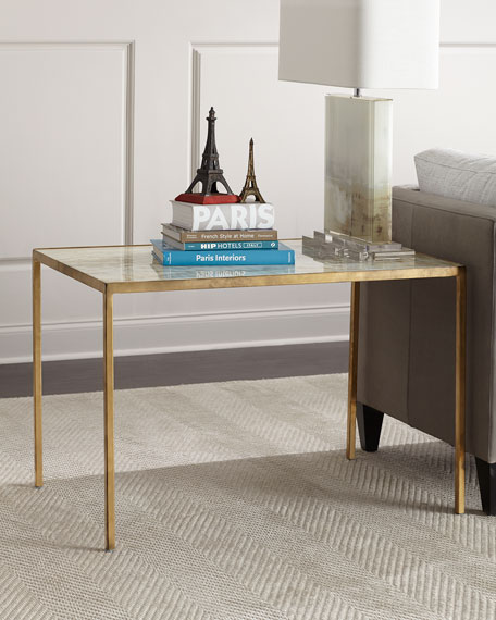 Lustrous Sky Side Table