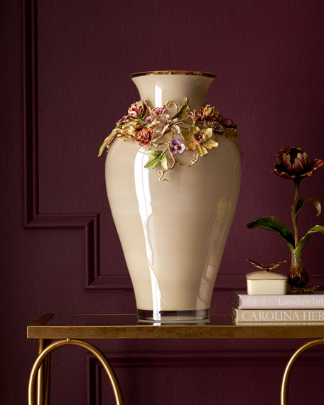 Flora Dutch Floral Vase