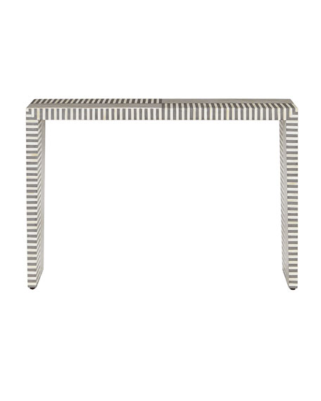 Farrah Bone Inlay Console Table
