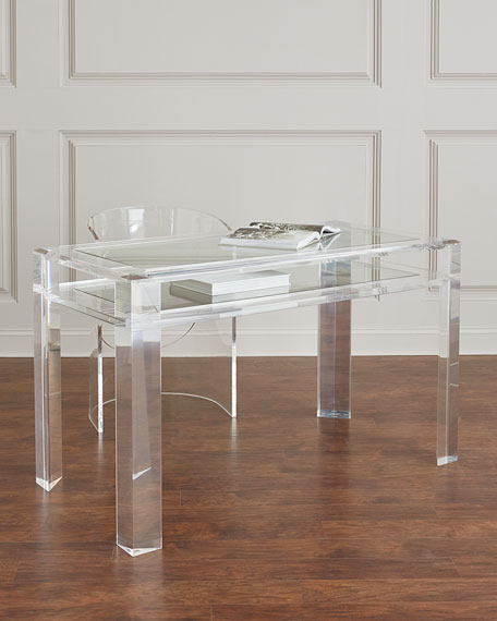 Landis Acrylic Writing Desk