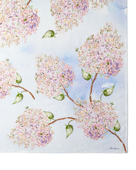 April Cornell Beautiful Blooms Breakfast Tablecloth