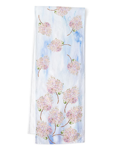 Beautiful Blooms Table Runner