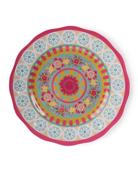Florabundance Melamine Serving Platter