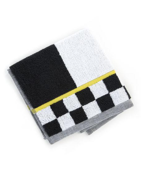 Courtly Stripe Washcloth