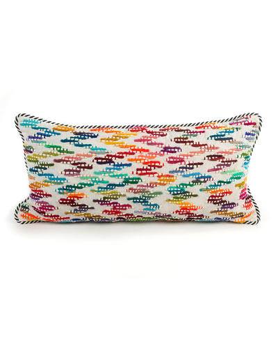 Zigzag Lumbar Pillow