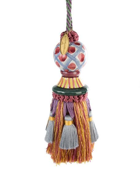 Ceramic-Head Tassel