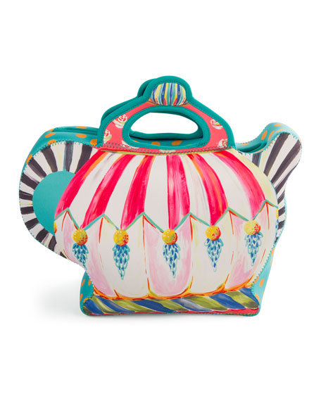 MacKenzie-Childs Teapot Lunch Tote