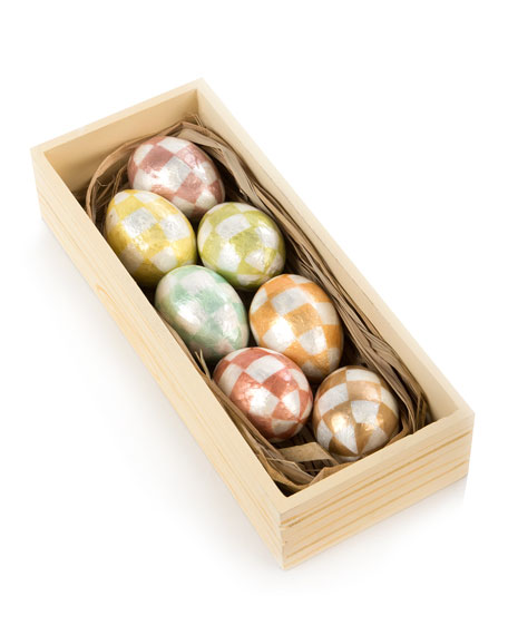 Cream Eggs, Set of 7