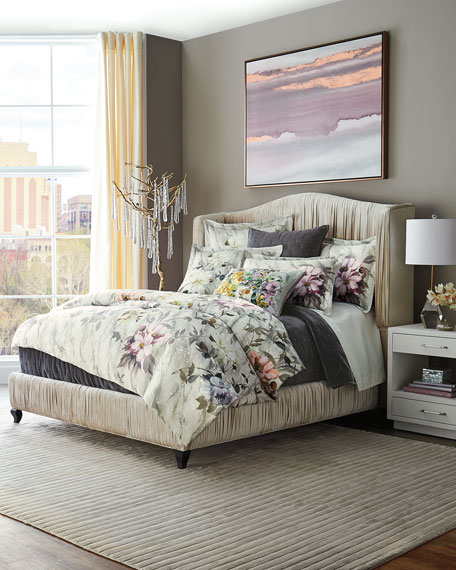 Sevanti Graphite Queen Quilt