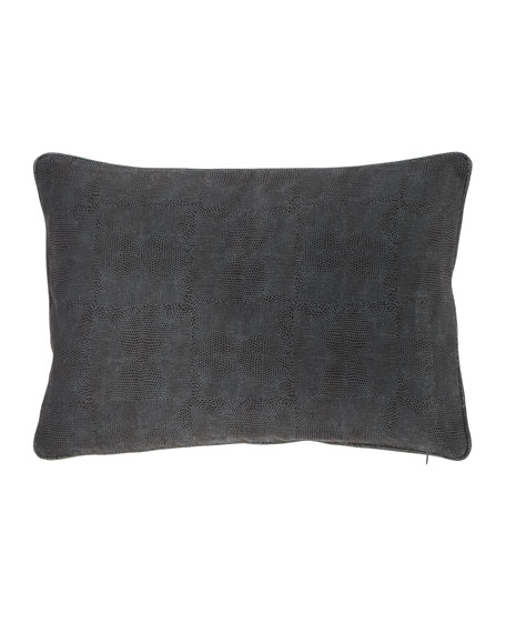 "Shagreen Pillow, 14"" x 20"""