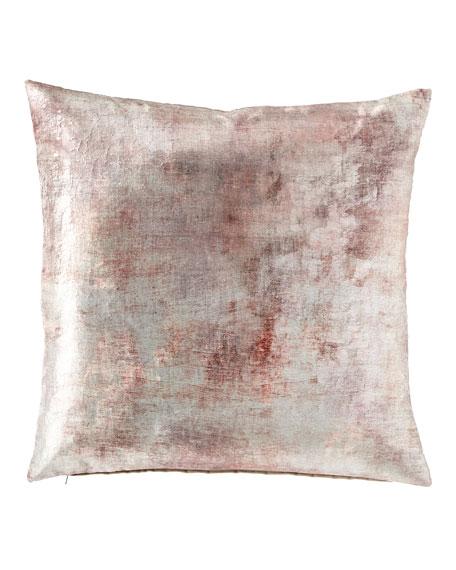 Despina Mauve Knife Edge Pillow