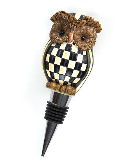 Hoot Owl Bottle Stopper