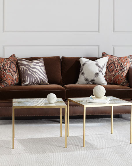 Lustrous Sky Bunching Coffee Table