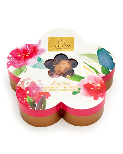 32-Piece Individually Wrapped Flower Chocolate Gift Box