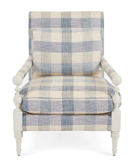 Buffalo Plaid Transitional Chair  sc 1 st  Horchow & John-Richard Collection Buffalo Plaid Transitional Chair