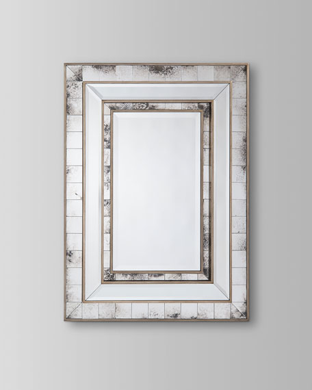 Izmir Antiqued Wall Mirror