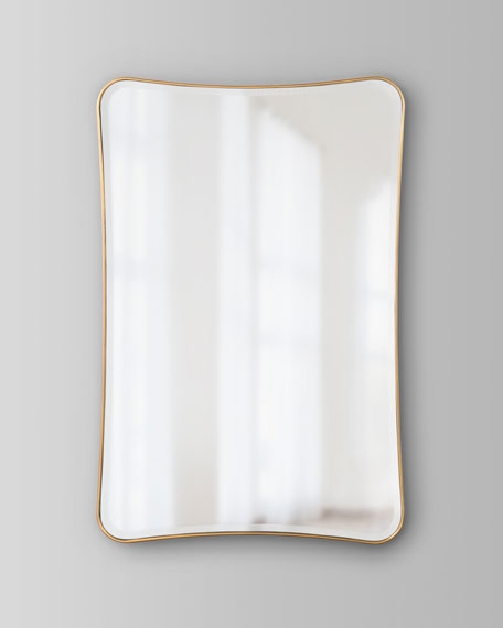 Moran Mirror in Gold