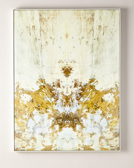 John-Richard Collection Gilded Ivory Giclee on Canvas Wall